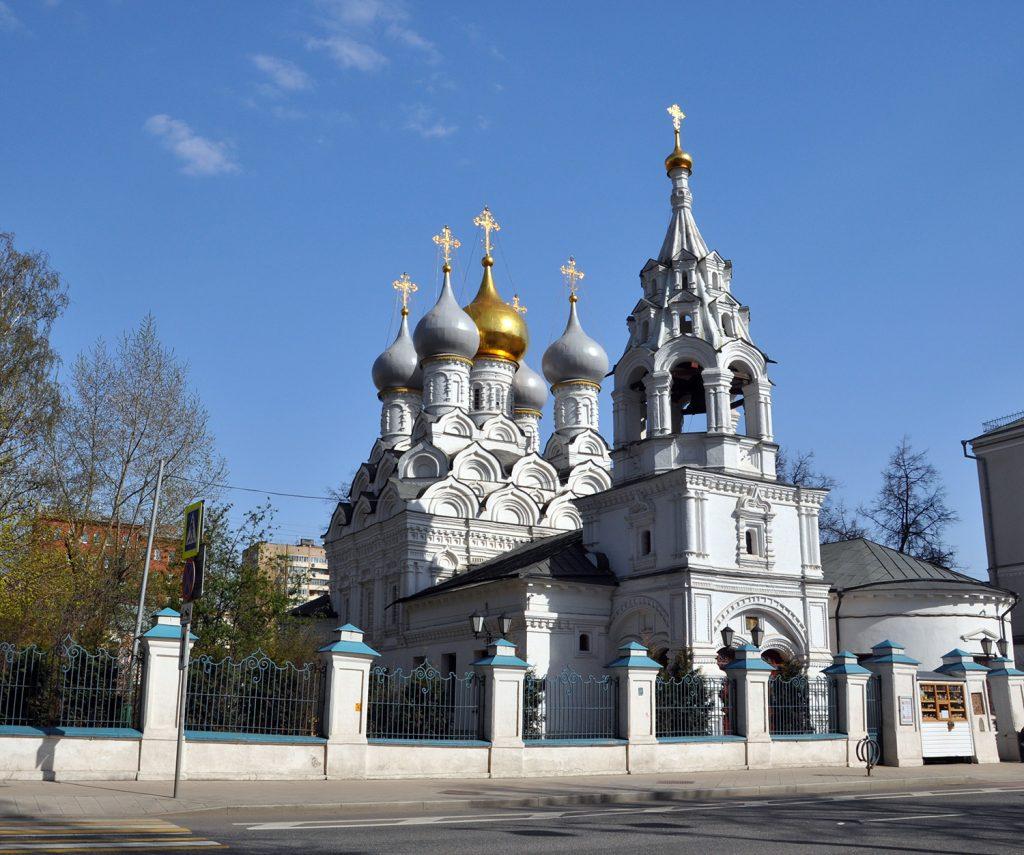 Церковь святителя Николы в Пыжах в Москве на Большой Ордынке.