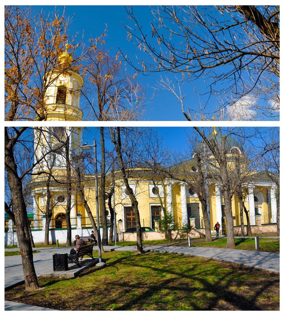 Церковь Всех Скорбящих Радость в Москве на Большой Ордынке.