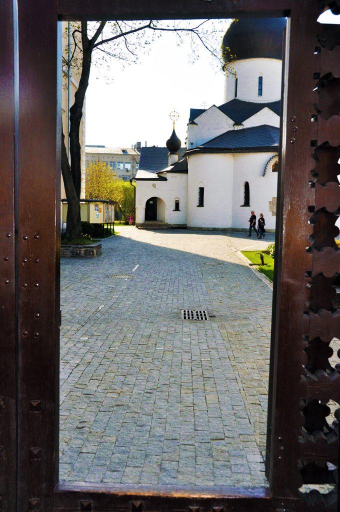 Марфо-Мариинская обитель. Ворота-вход.