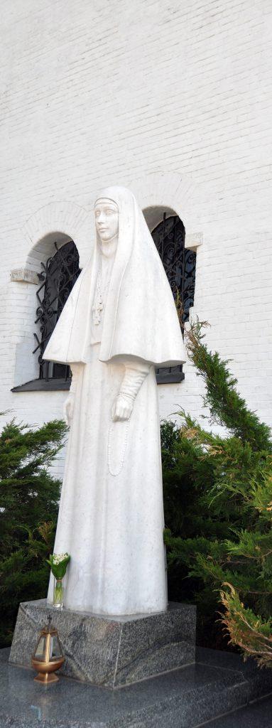 Скульптура великой княгини Елизаветы Федоровны. В.М.Клыков.