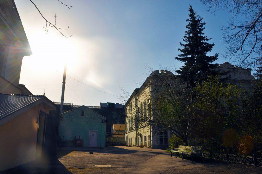 институт астрономии «ИНАСАН» в Москве на Пятницкой улице.