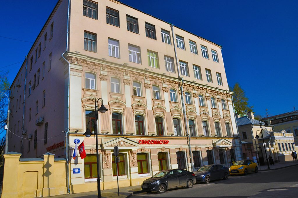 Улица Пятницкая,47 в Москве.