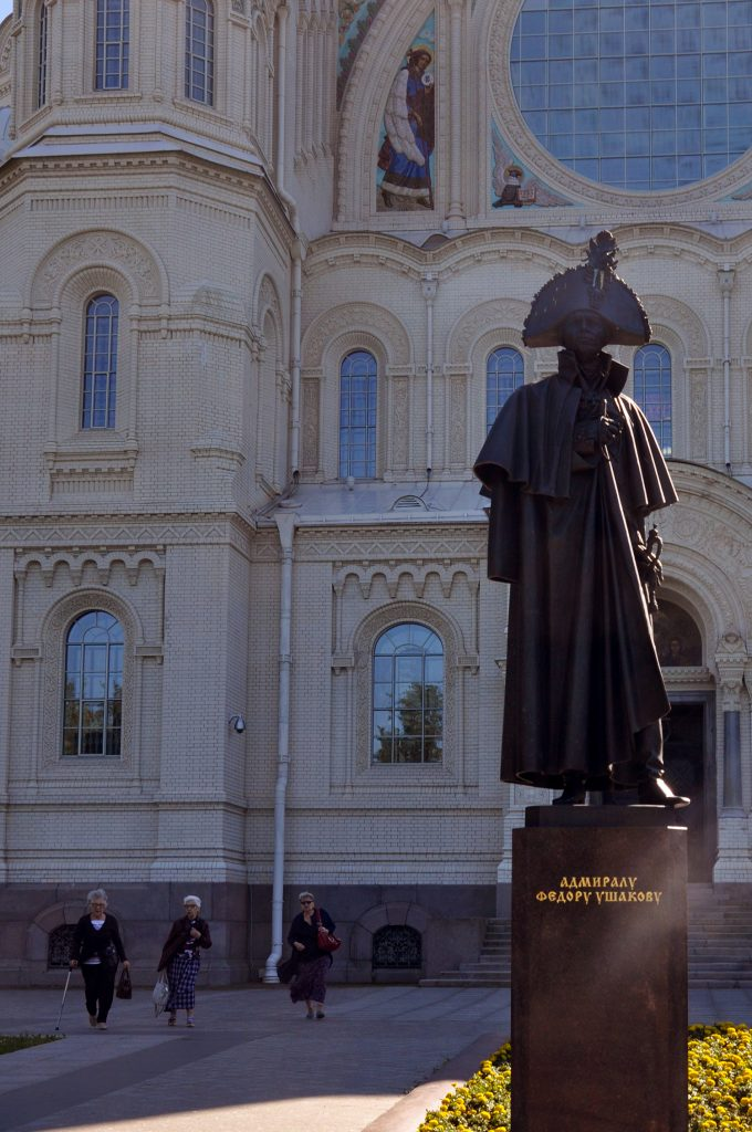 Памятник Федору Ушакову в Кронштадте
