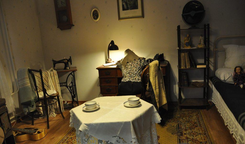 Музей истории Кронштадта. Блокадная комната в Кронштадте
