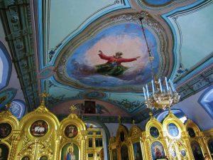 Интерьер храма Храм Преображения Господня в Радонеже