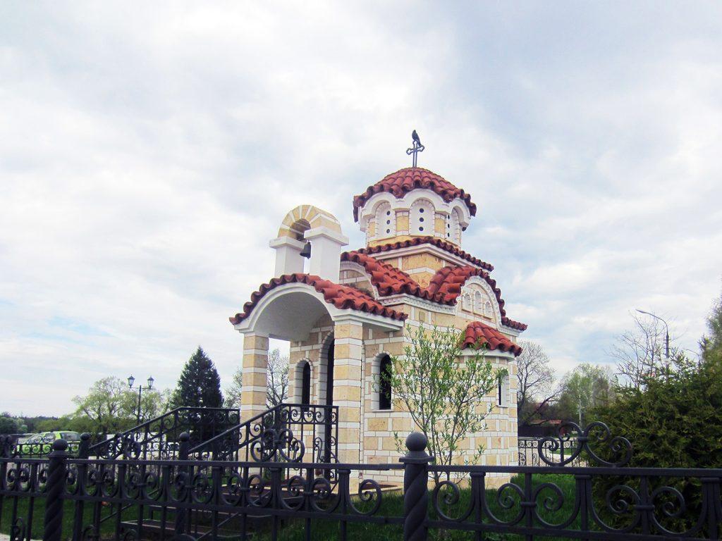 Часовня блаженной Матроны Московской в Радонеже