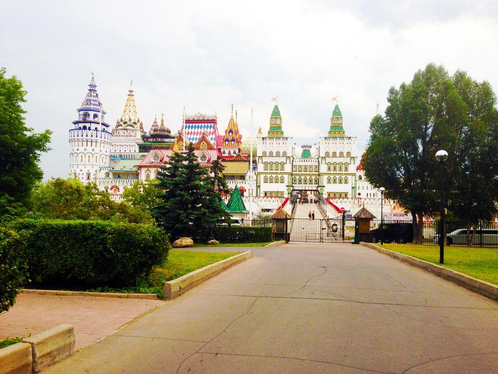 Кремль в Измайлово в Москве.