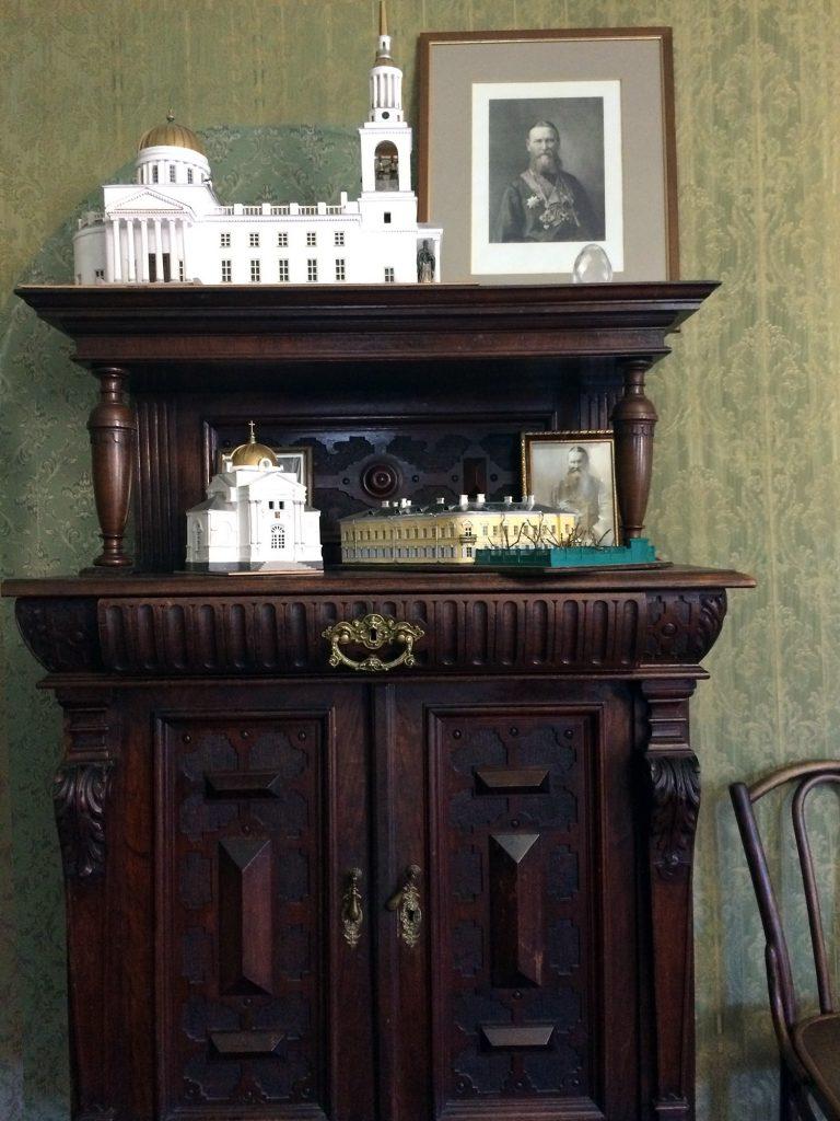 макет Андреевского собора в квартире Иоанна Кронштадтского в Кронштадте