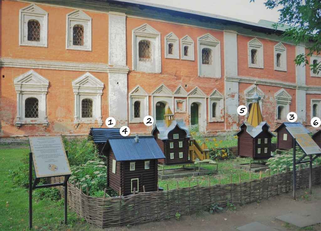 Бывшие кельи Ярославского музея-заповедника