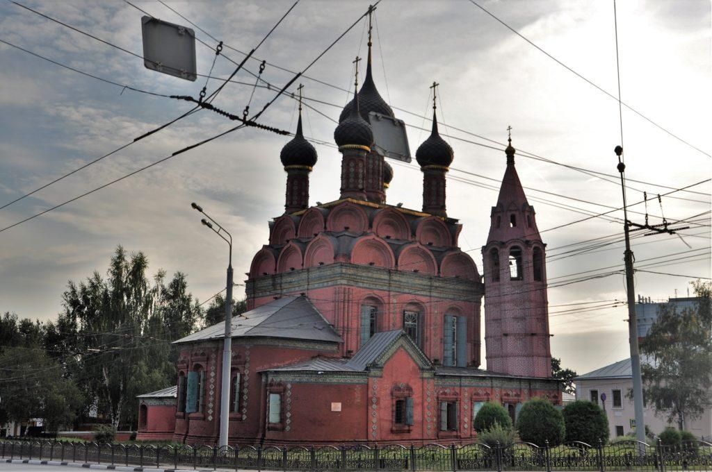 Богоявленская церковь в Ярославле