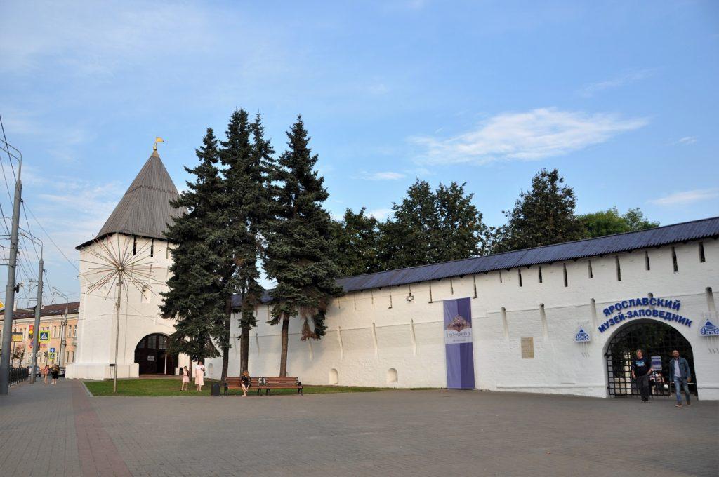 Кремль в Ярославле