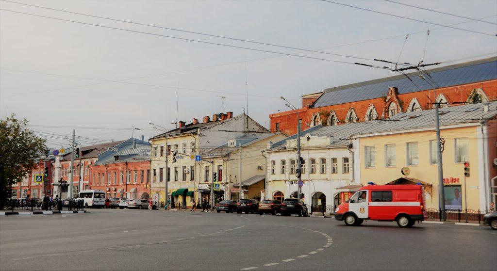 Богоявленская площадь Ярославль.