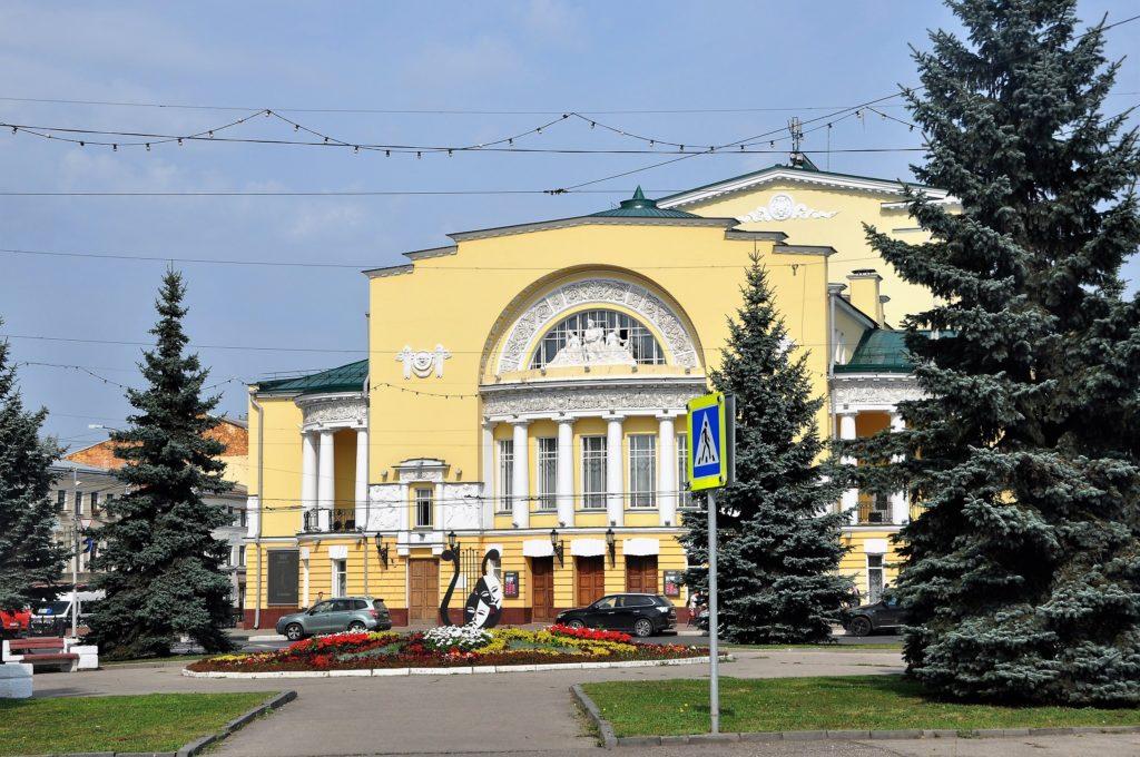 3. Театр имени Ф.Волкова. в Ярославле