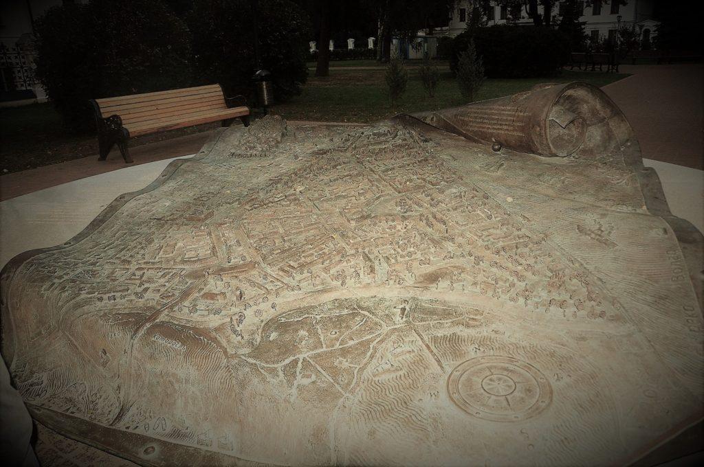 План города Ярославля 1778г. Карта.