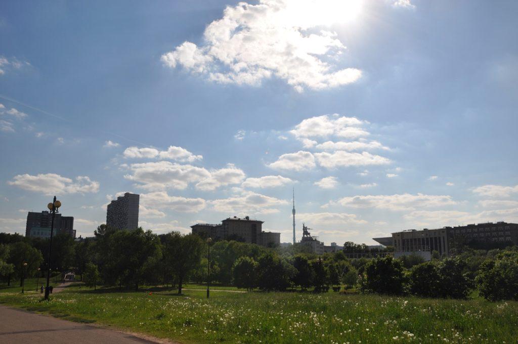 Район Ростокино в Москве.