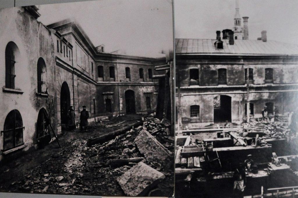 Тюрьма Трубецкого бастиона.