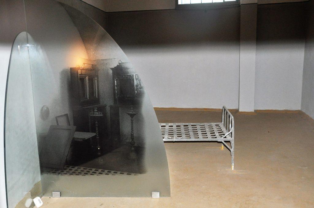 Часовня в тюрьме Трубецкого бастиона.