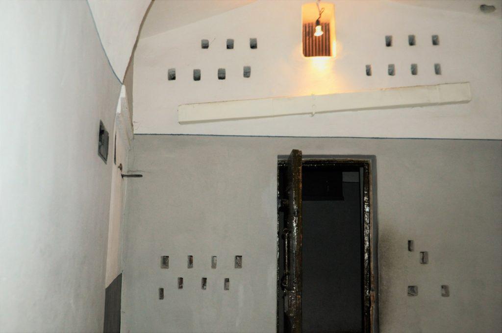 Карцер в тюрьме Трубецкого бастиона.
