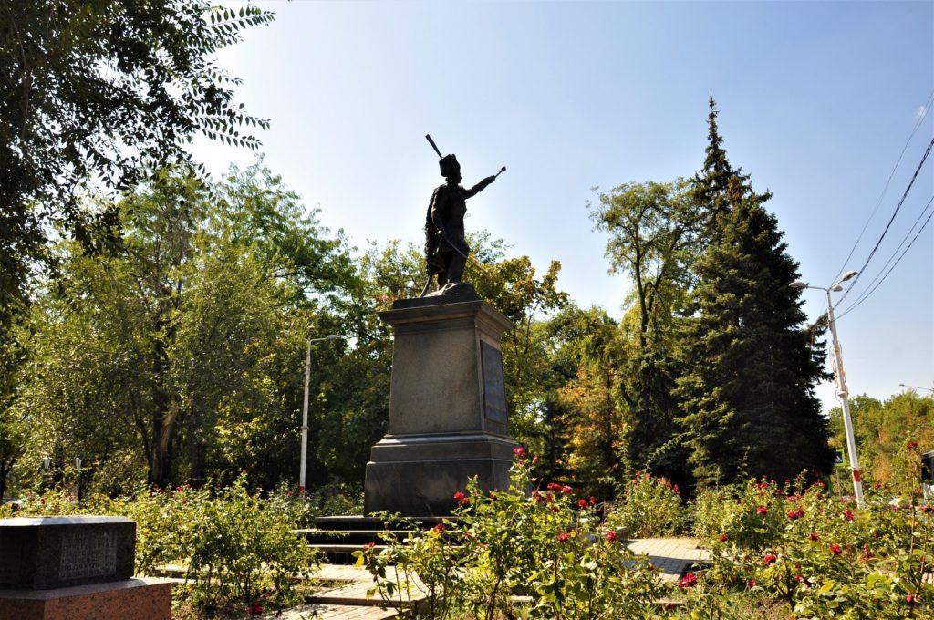 Новочеркасск. Памятник Матвею Платову.