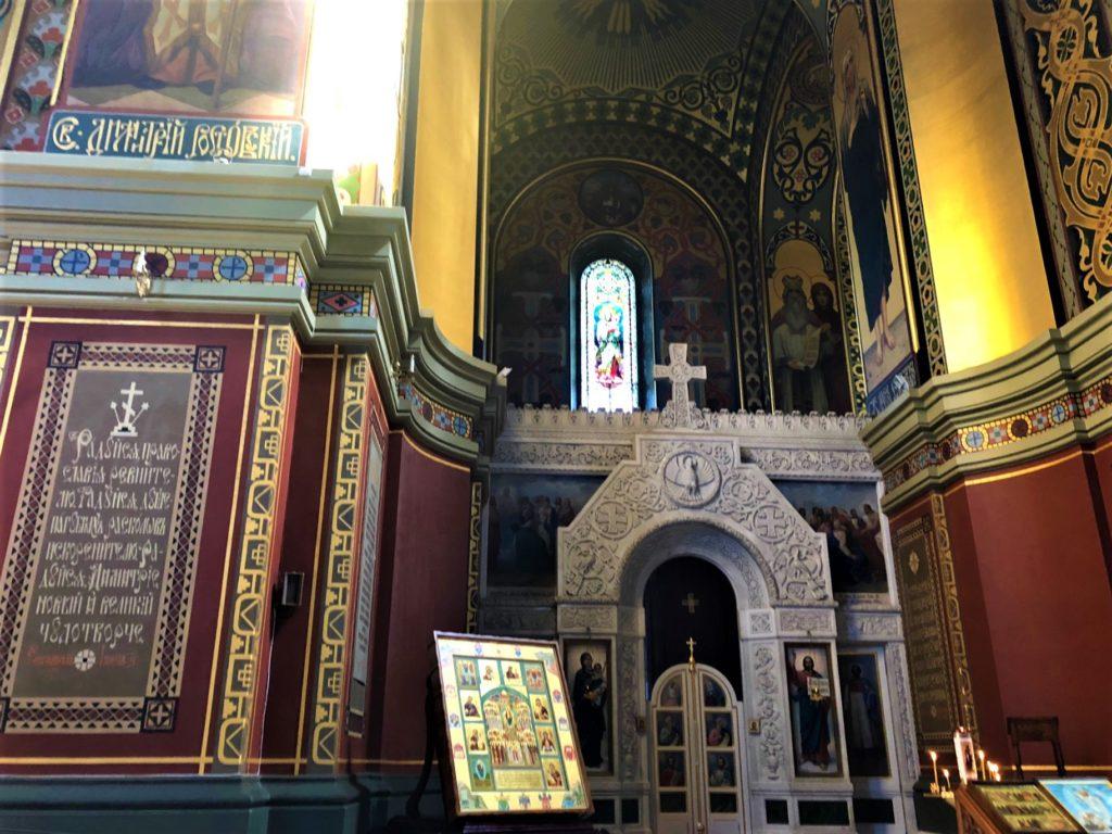 Новочеркасск интерьер храма
