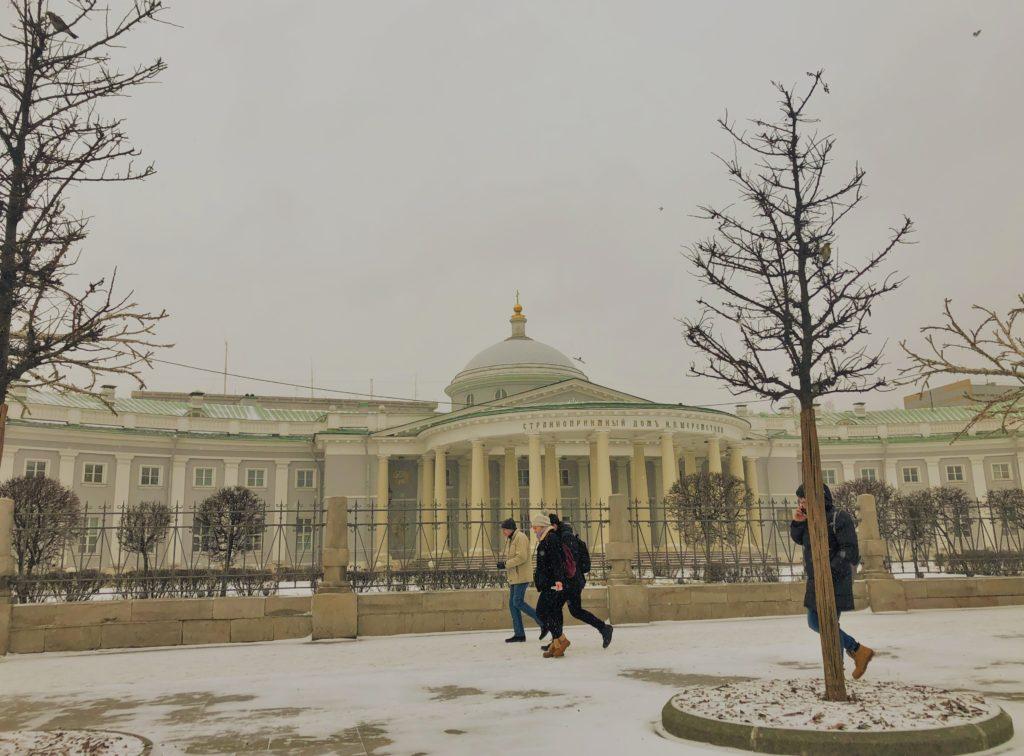 Странноприимный дом Шереметьева на Сузаревской в Москве
